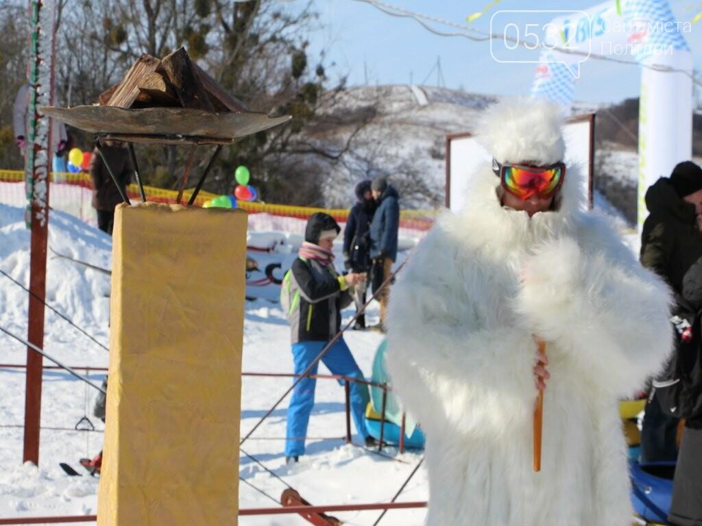 Вчитель на санчатах, снігова людина та боги Олімпу: в Сорочиному Яру триває «Sanki Fest» , фото-1