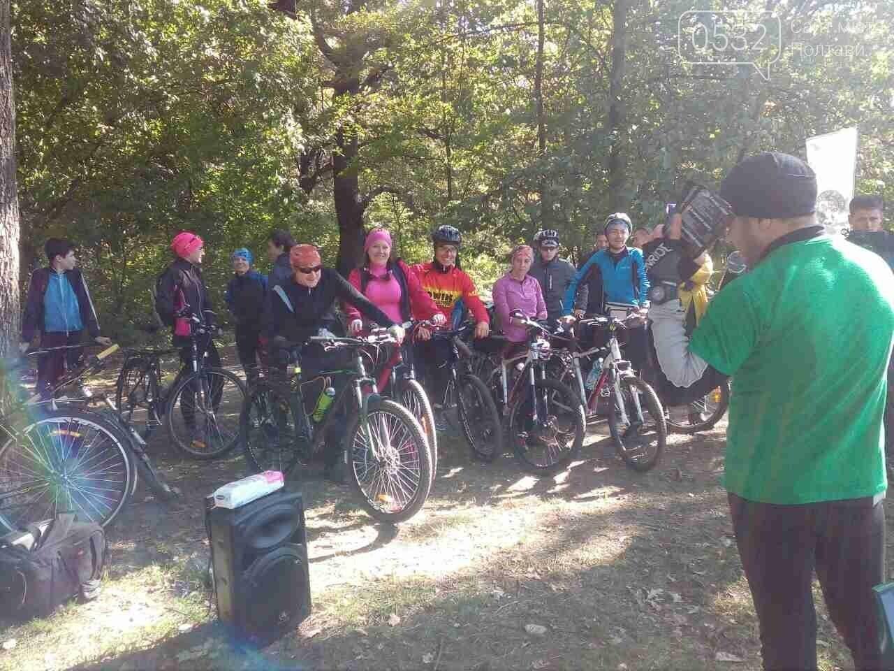 Драйвова субота: у Дендропарку полтавці на велосипедах розгадують квест з кашею та глінтвейном, фото-2