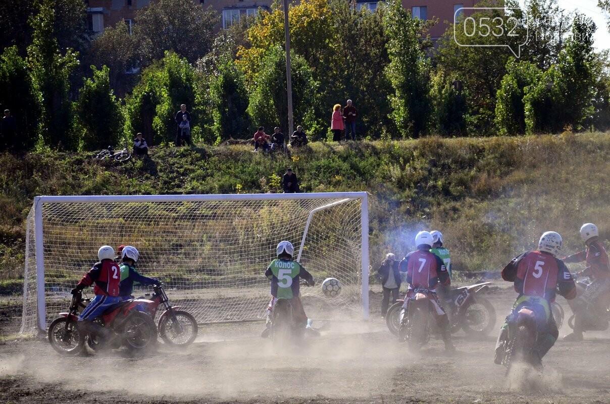 Залізні і нестримні: дивіться наш фоторепортаж із неймовірного матчу з мотоболу, фото-48