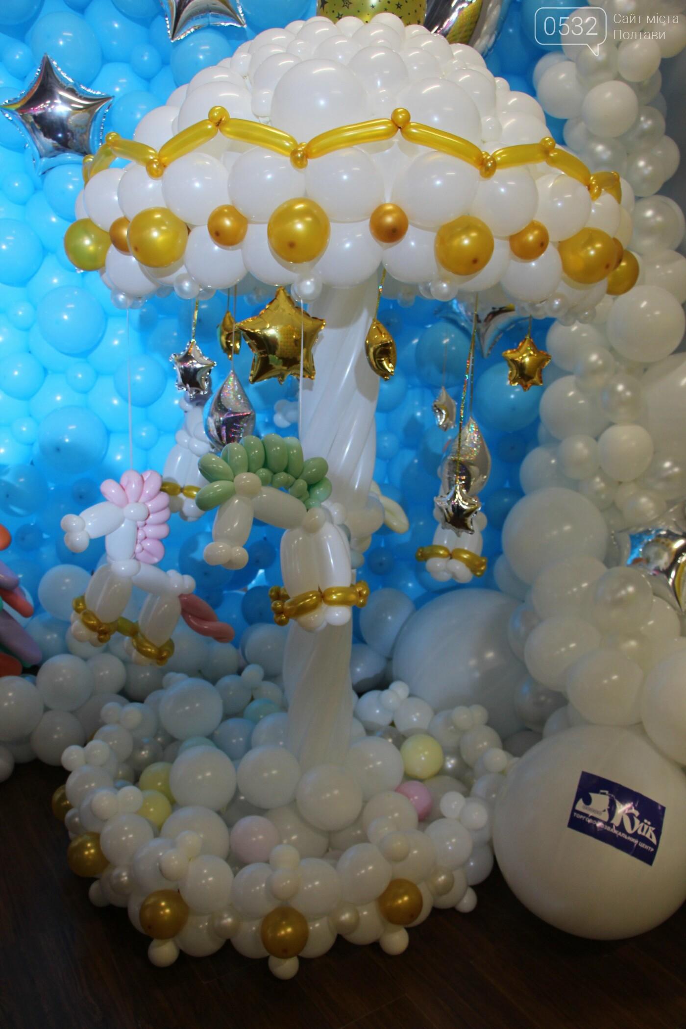Діти у захваті – у Полтаві вперше організували виставку великих фігур із повітряних кульок (ФОТО)   , фото-3