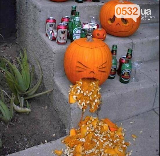 Сьогодні Хелловін — свято монстрів, гарбузів і веселих вечірок., фото-2