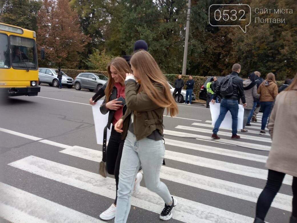 """У Полтаві ображені підприємці перекрили рух транспорту """"на кругу"""" (ВІДЕО), фото-6"""