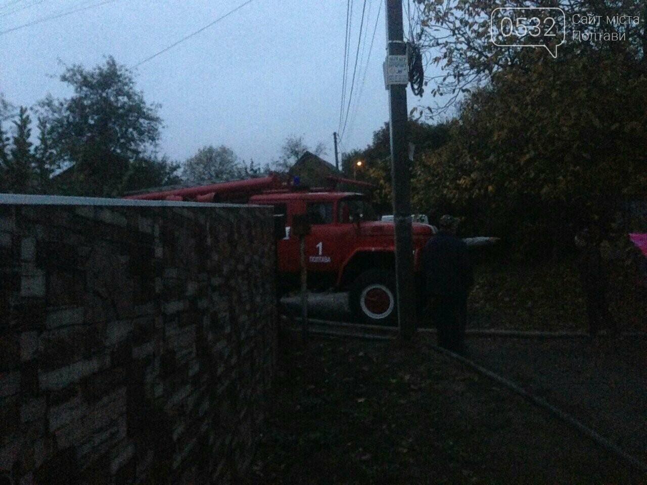 У Полтаві горів будинок на Тобілевича: гасили двадцять пожежників, фото-3