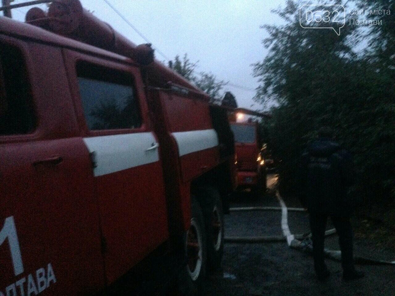 У Полтаві горів будинок на Тобілевича: гасили двадцять пожежників, фото-4