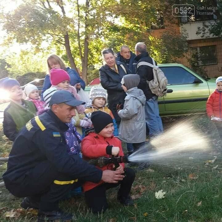 Віта Блоха: організували дітям свято з ДСНС, щоб навчити пожежній безпеці, фото-1
