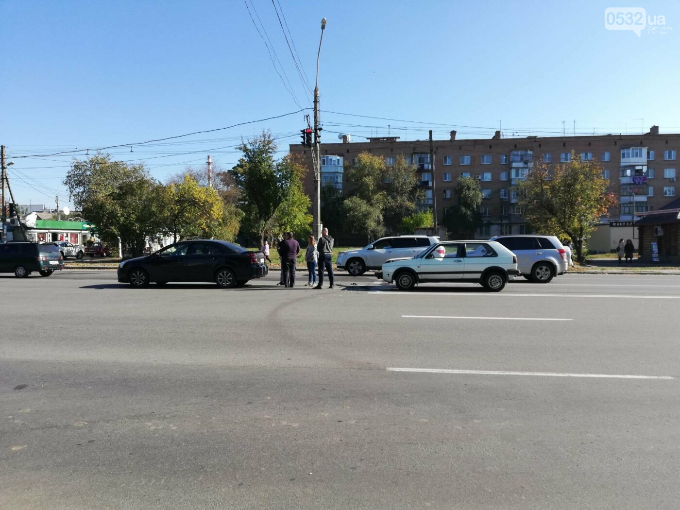 ДТП у Полтаві: на Боженка «Фольксваген» наздогнав «Тойоту» (ФОТО), фото-3