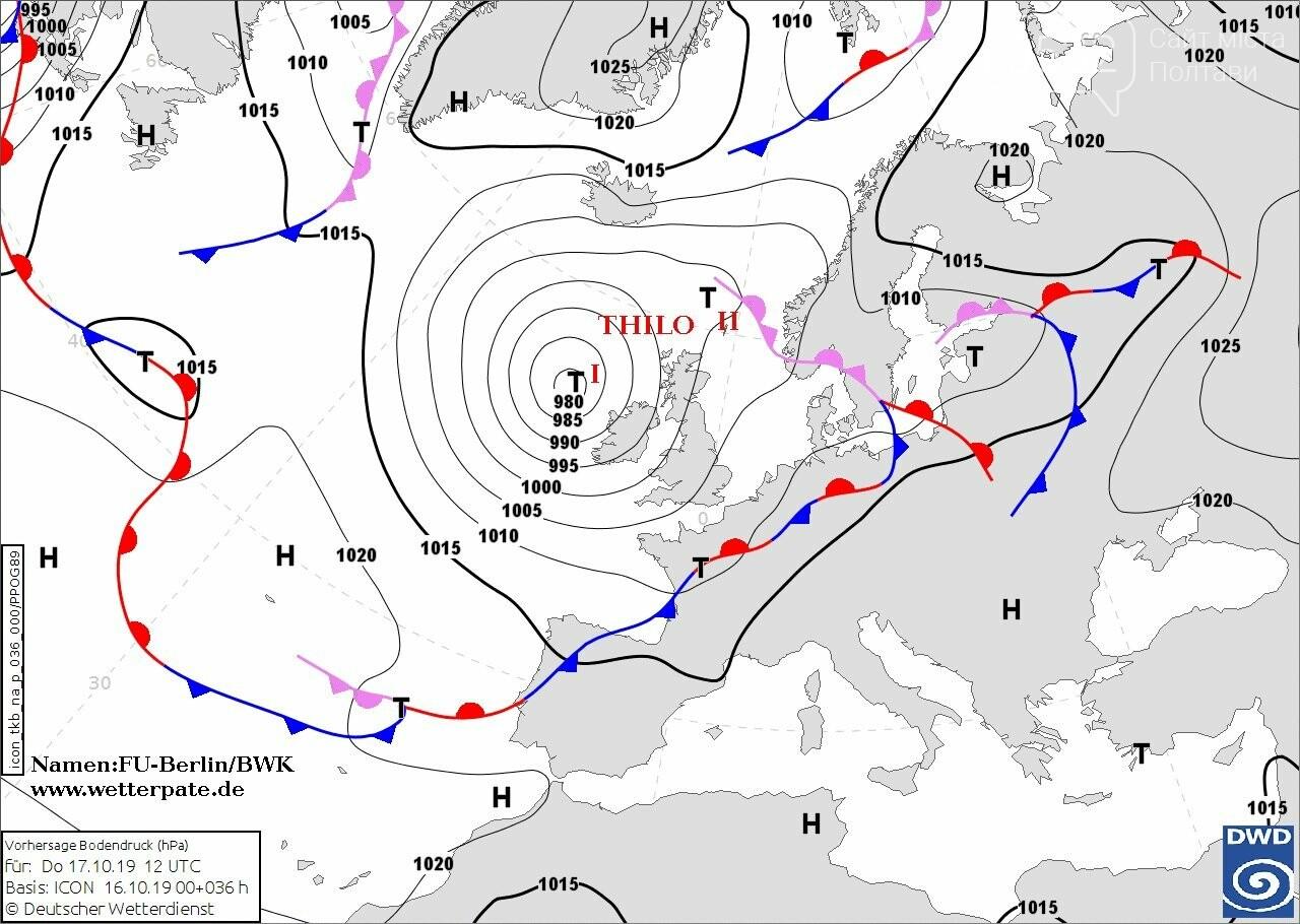 Циклон Thilo визначатиме погоду в Україні. Чого чекати?, фото-1