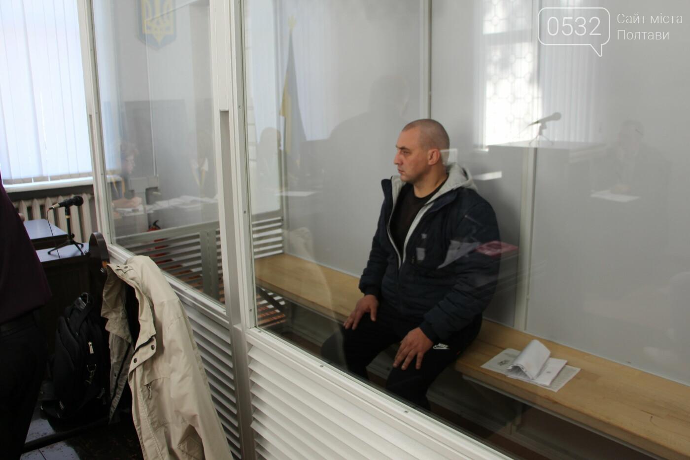 «Я не вбивав! Ми ж разом виросли!» - у Полтаві підозрюваного у вбивстві оператора Дениса Руденка не випустили з-за ґрат (ВІДЕО), фото-7