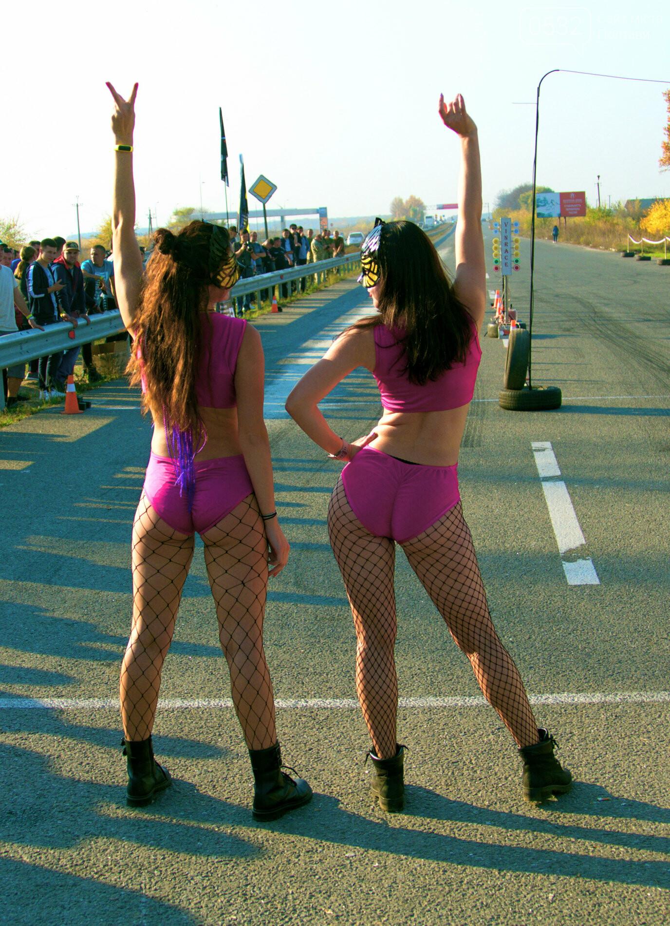 У Полтаві на трасі ганяли машини і танцювали розкішні красуні (ВІДЕО, ФОТО), фото-3
