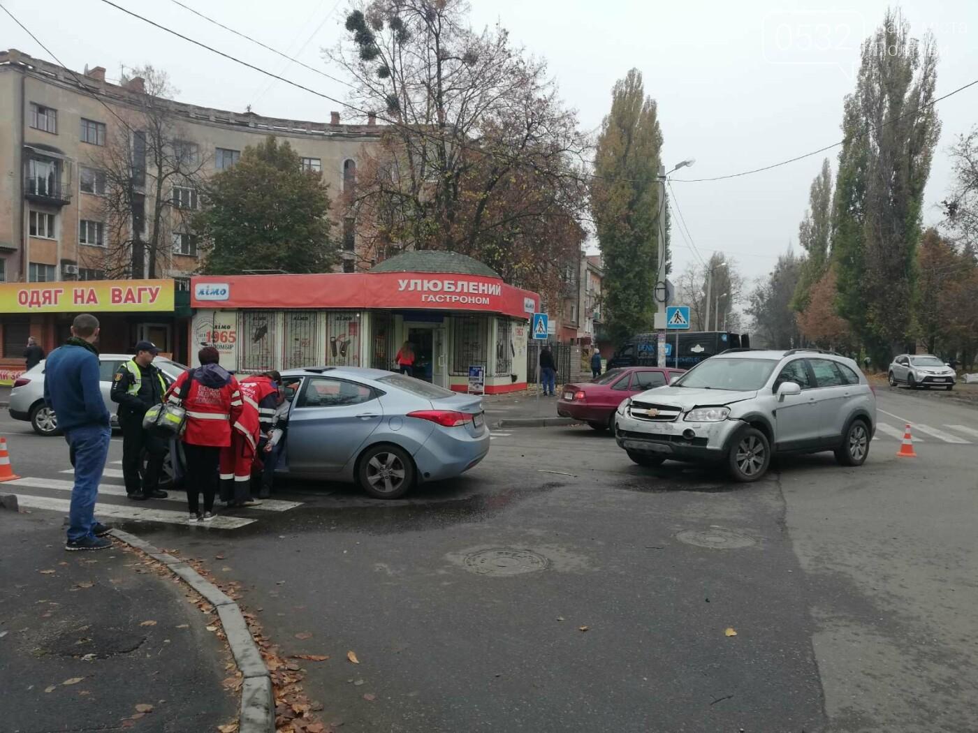 У Полтаві зіткнулися Chevrolet та Hyundai (ФОТО), фото-1