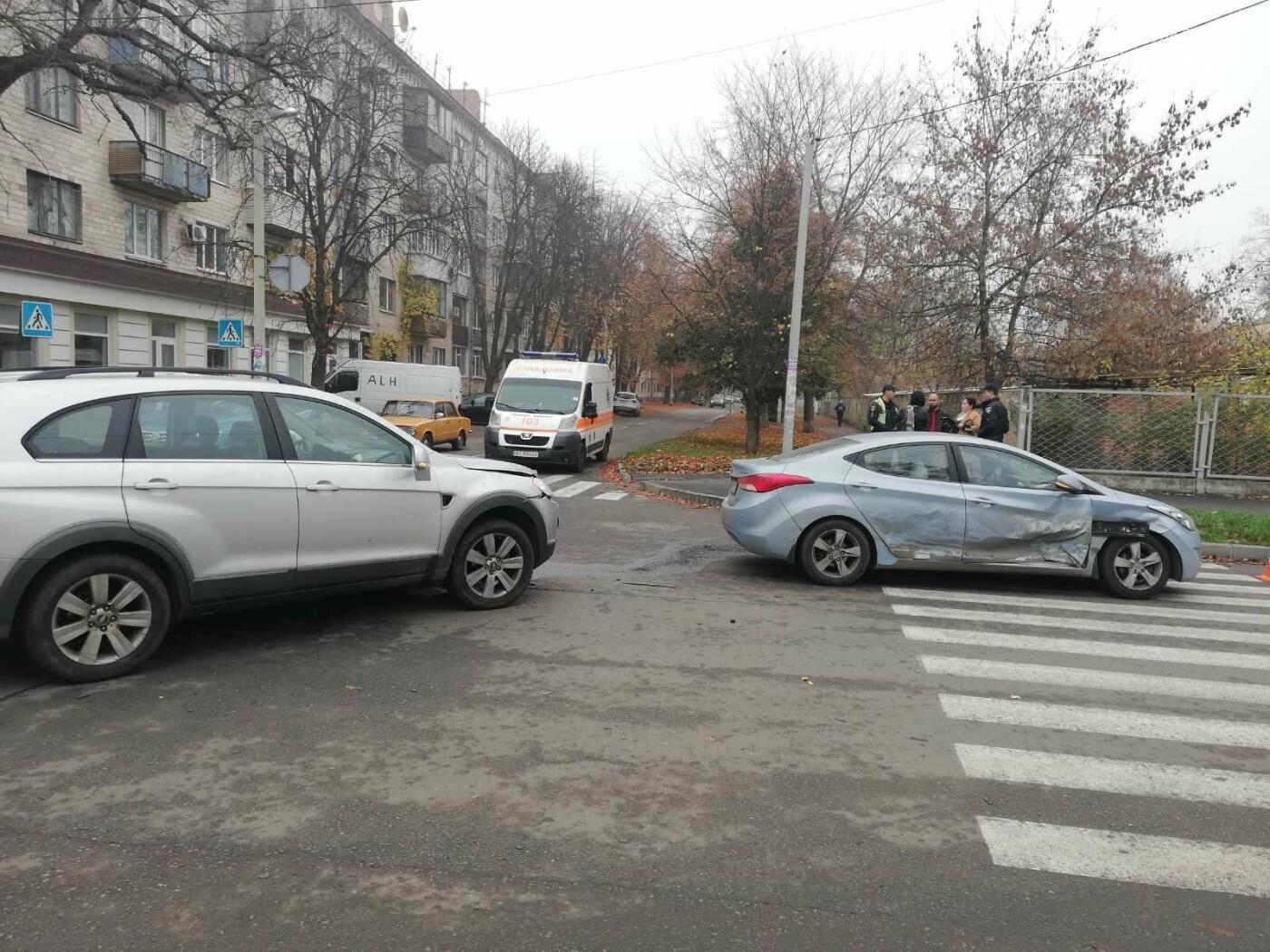 У Полтаві зіткнулися Chevrolet та Hyundai (ФОТО), фото-3