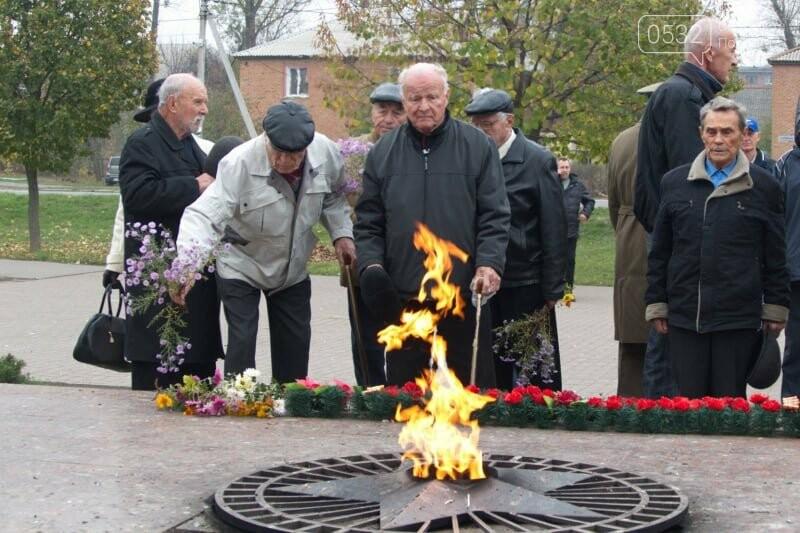 У Полтаві відзначили 75 річницю вигнання нацистських окупантів, фото-4