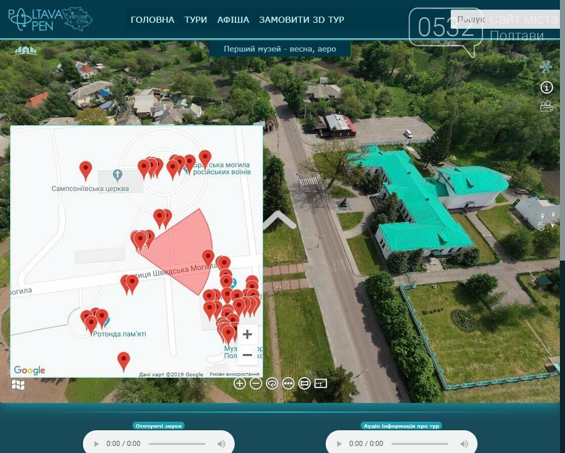 У Полтаві створили мобільний додаток для віртуальних подорожей містом (ВІДЕО), фото-8