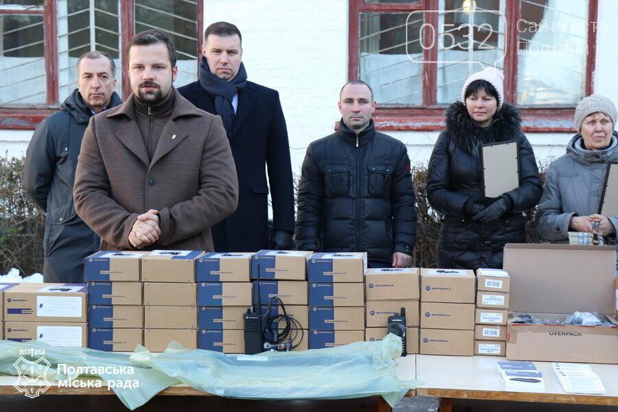 Полтавським військовим вручили нове обладнання для захищеного радіозв'язку, фото-5