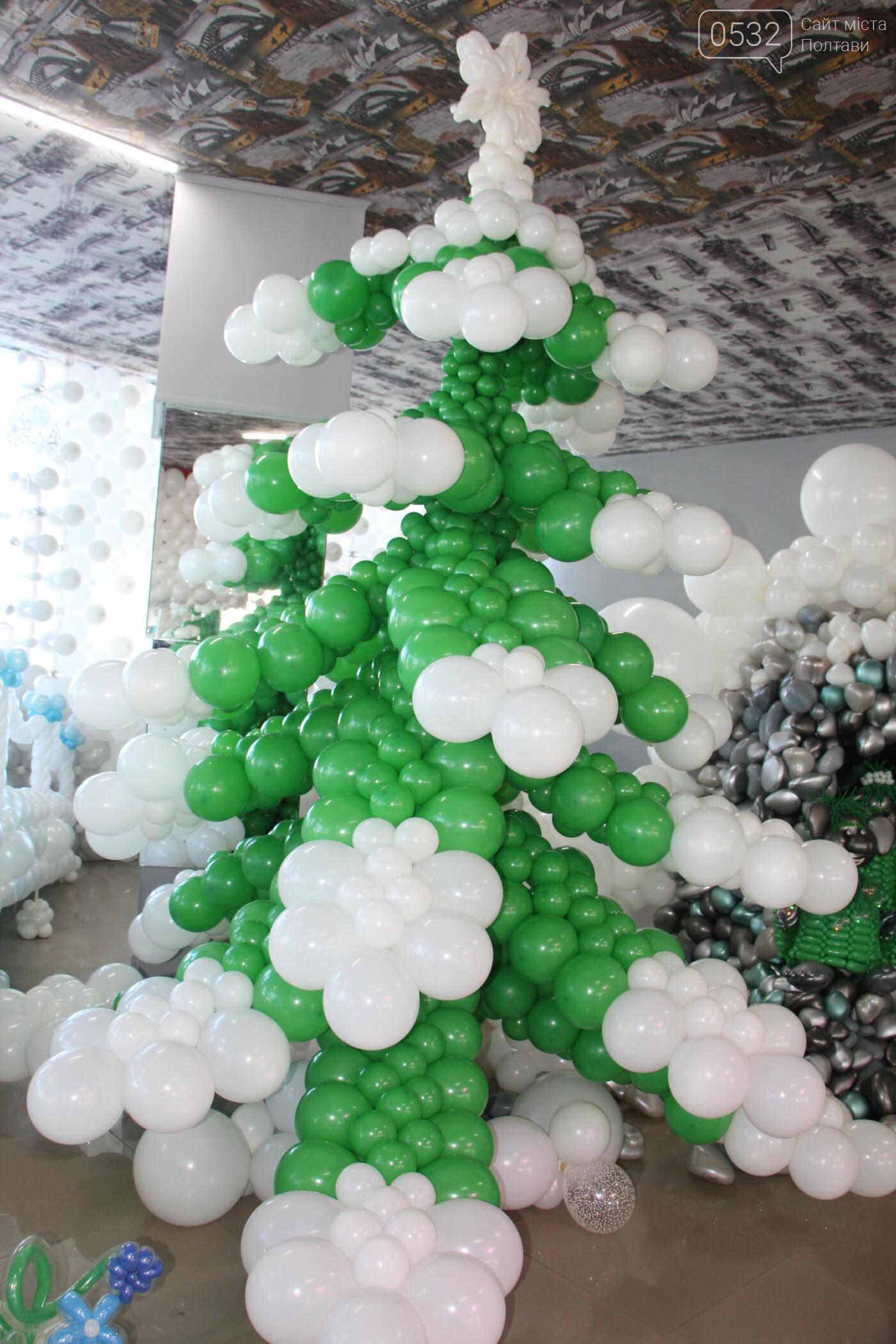 У Полтаві для дітей влаштували «Зимову казку» з повітряних кульок (ФОТО), фото-8