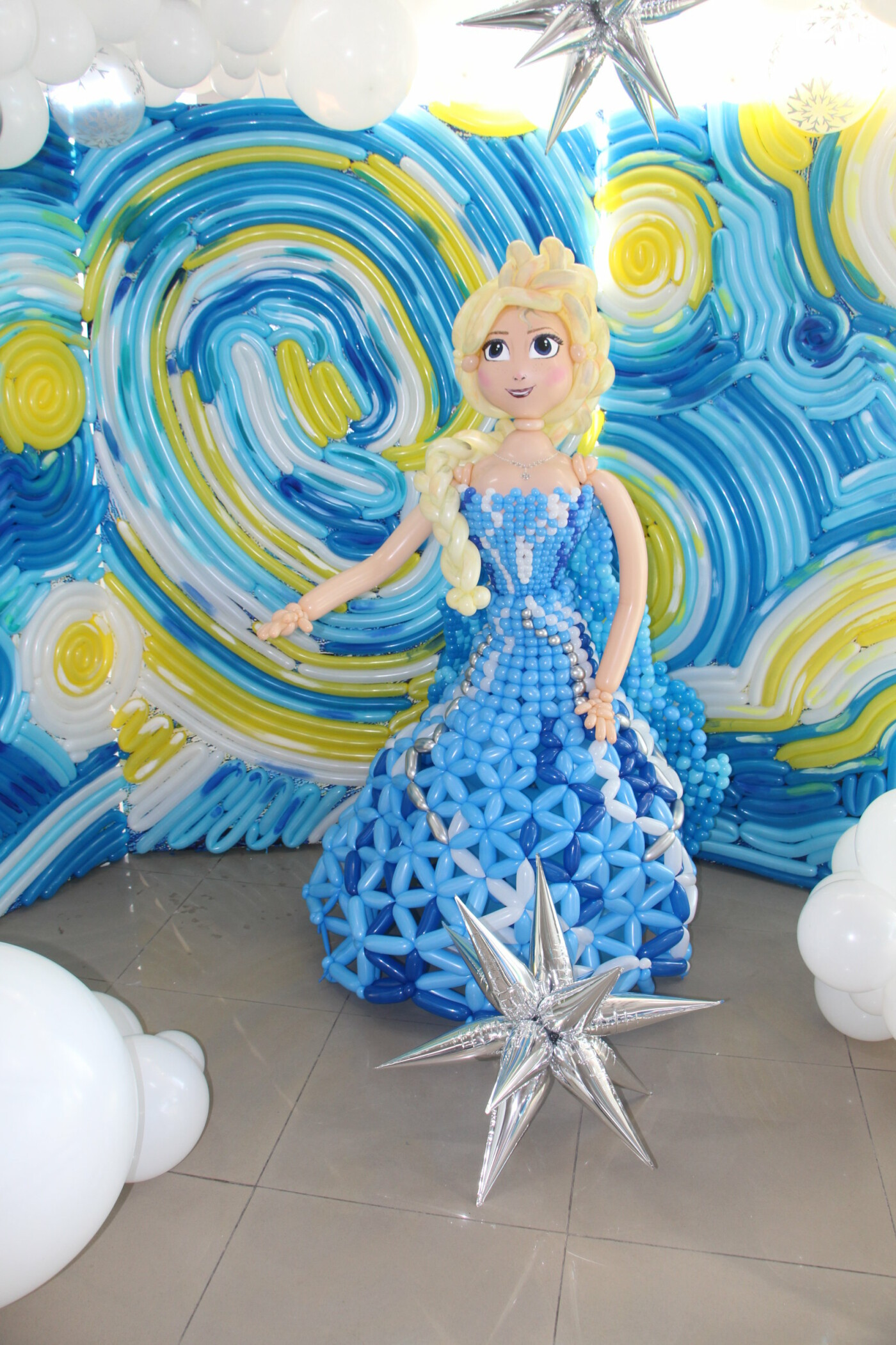 У Полтаві для дітей влаштували «Зимову казку» з повітряних кульок (ФОТО), фото-13