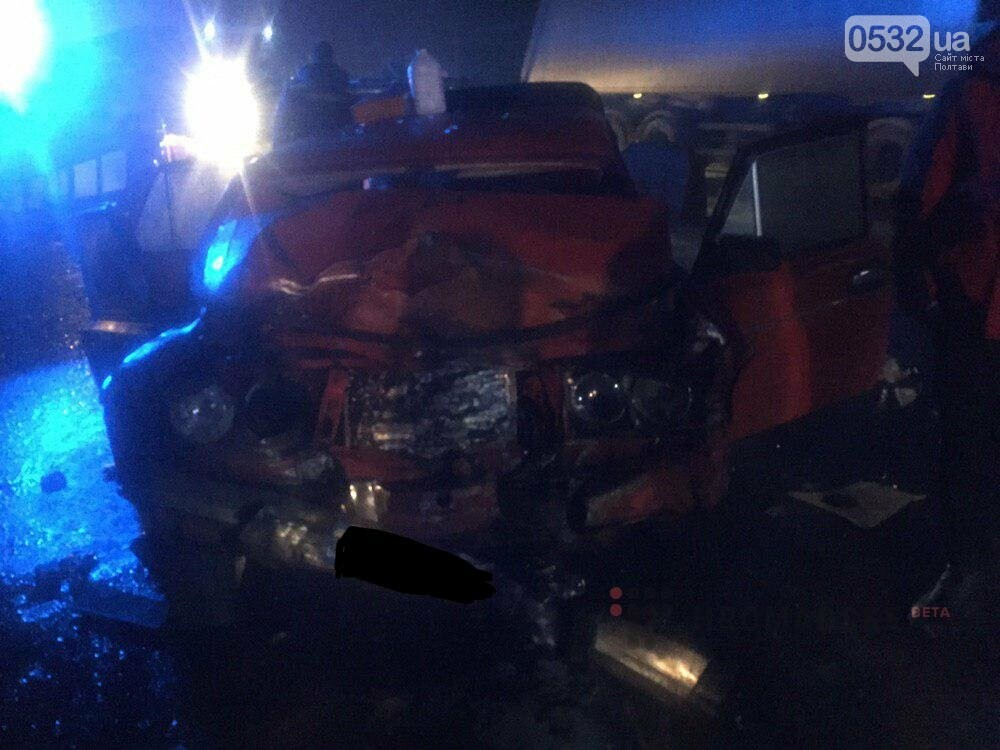 В аварії під Полтавою травмувалися п'ятеро людей, фото-1