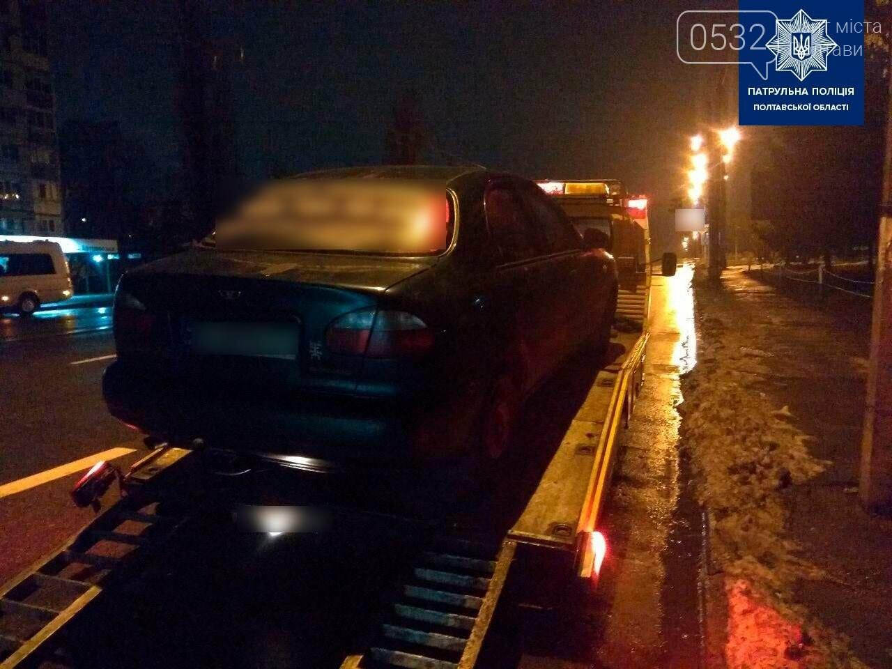 У Полтаві на Кагамлика поліцейські зупинили п'яного водія без прав, фото-3