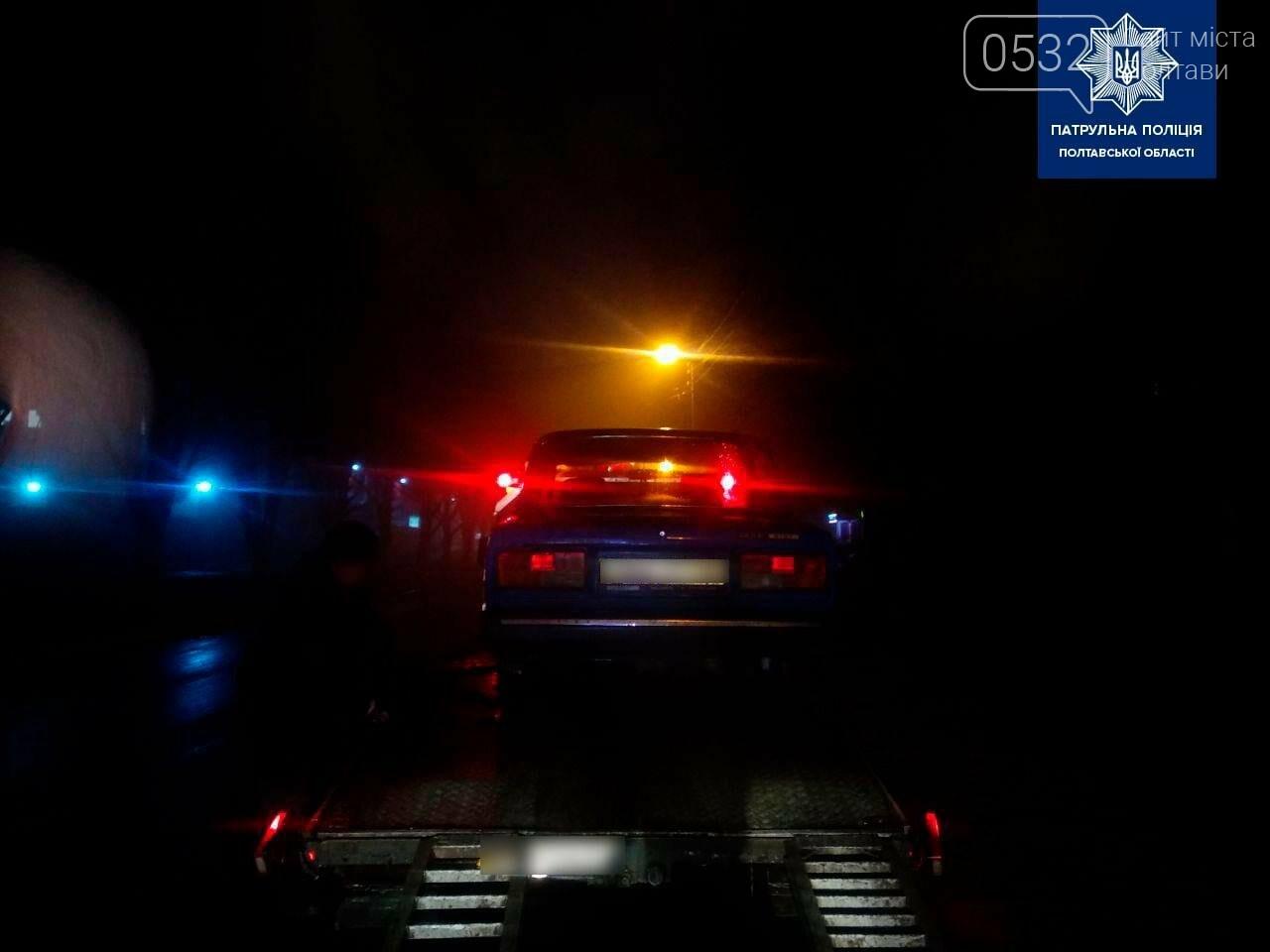 У Полтаві на Кагамлика поліцейські зупинили п'яного водія без прав, фото-1