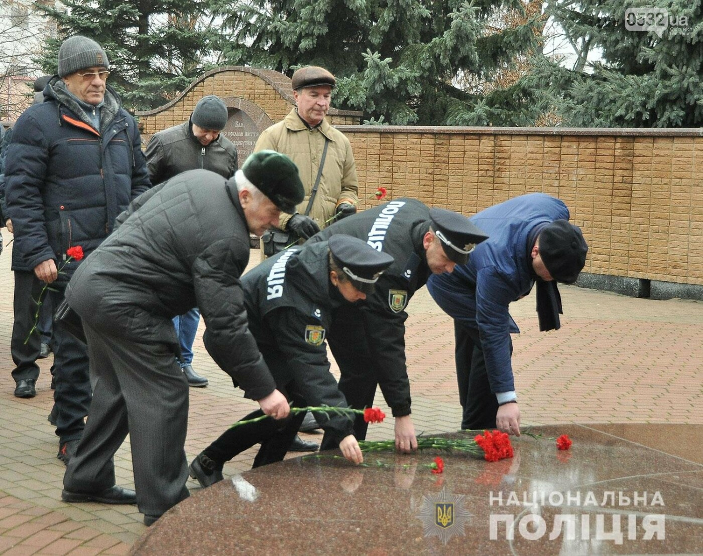 Поліція Полтавщини вшанувала пам'ять учасників ліквідації наслідків аварії на ЧАЕС, фото-4