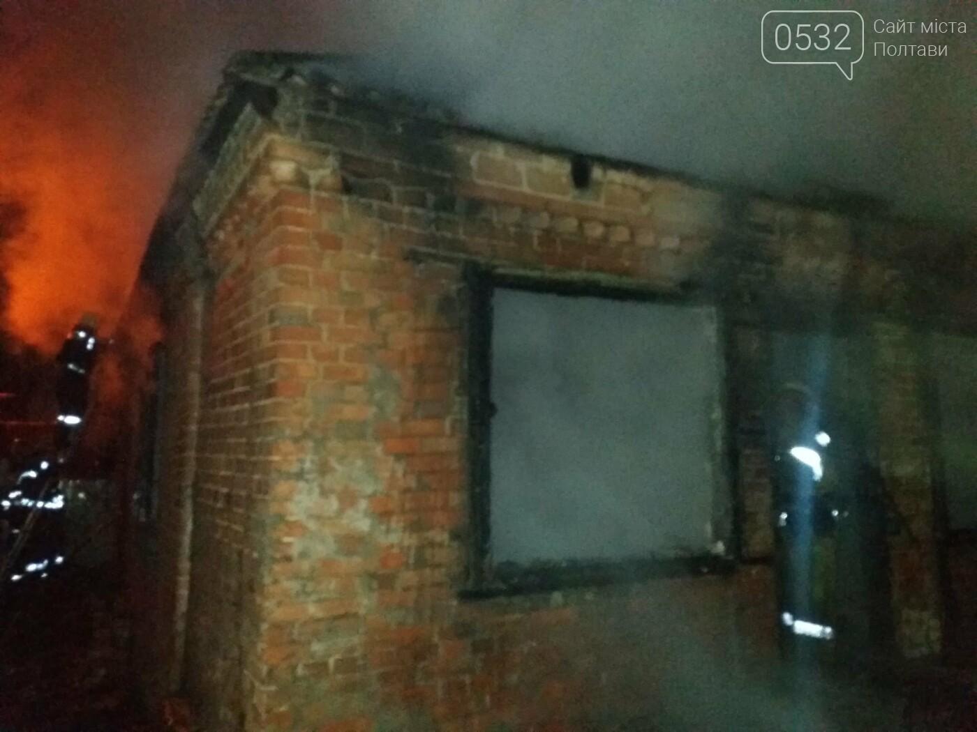 Вночі у Полтаві сталася пожежа у приватному секторі, фото-6