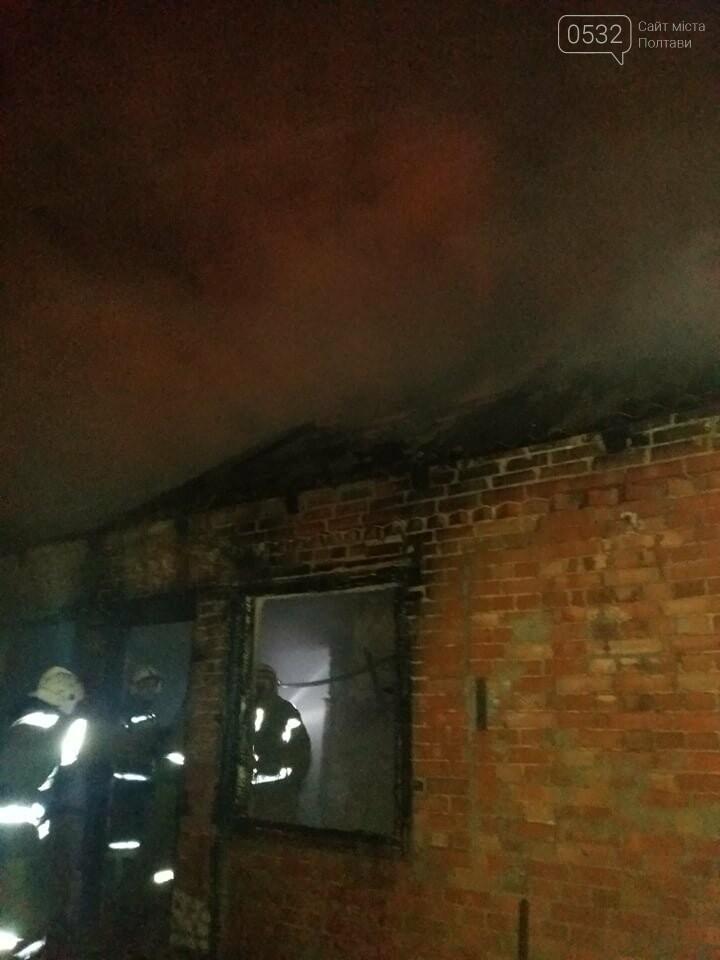 Вночі у Полтаві сталася пожежа у приватному секторі, фото-8