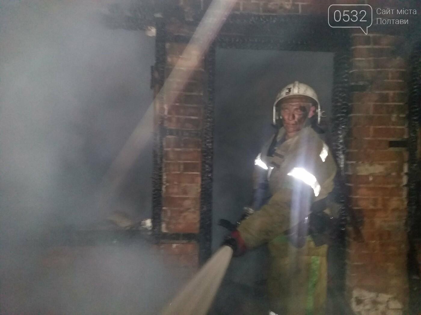 Вночі у Полтаві сталася пожежа у приватному секторі, фото-2