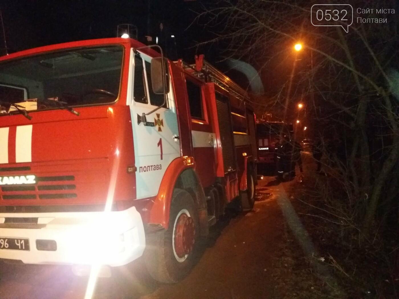 Вночі у Полтаві сталася пожежа у приватному секторі, фото-3