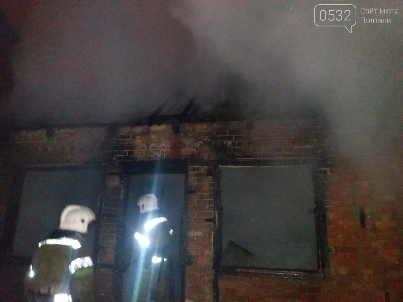 Вночі у Полтаві сталася пожежа у приватному секторі, фото-7