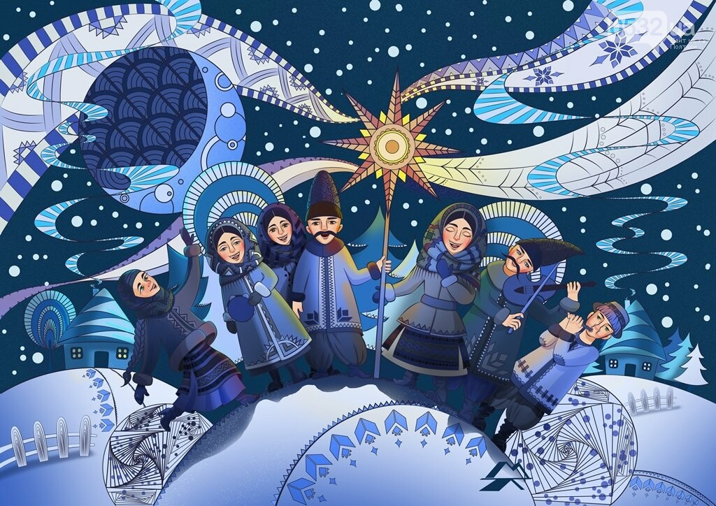Привітайте рідних і друзів із Різдвом оригінальними листівками! (ФОТО), фото-11