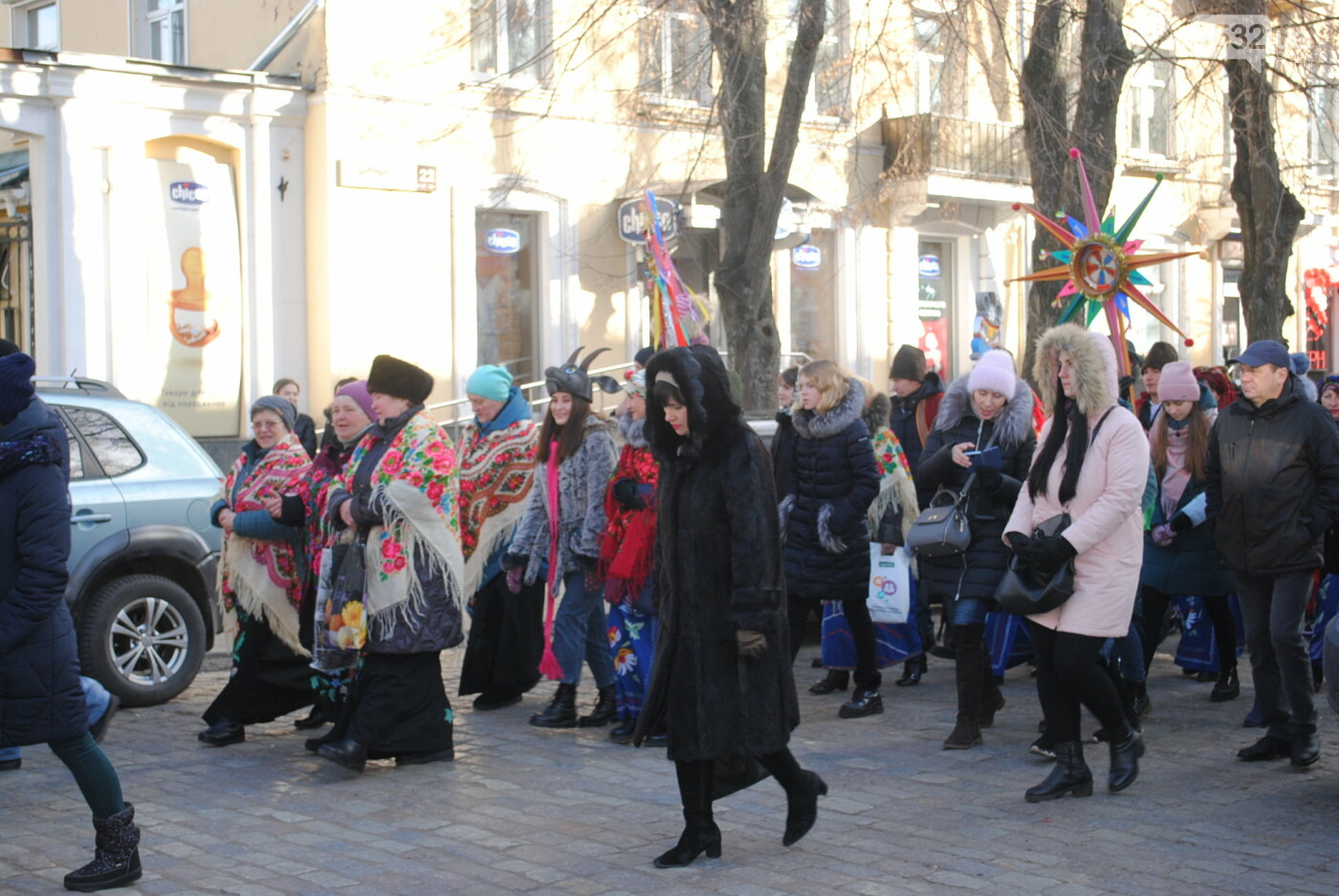 У Полтаві розгорнулося вертепне дійство з колядками та щедрівками «Різдвяна феєрія» (ФОТО), фото-11