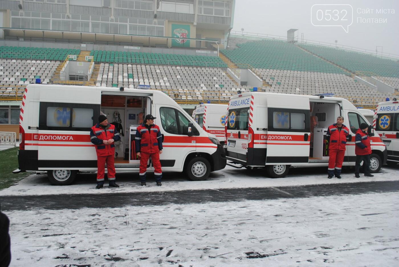 До Полтавського автопарку екстреної медичної допомоги надійшло 103 нових автомобіля, фото-3