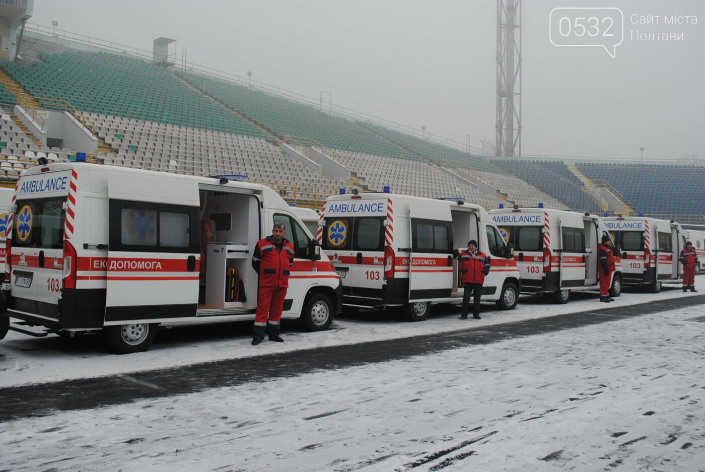 До Полтавського автопарку екстреної медичної допомоги надійшло 103 нових автомобіля, фото-4