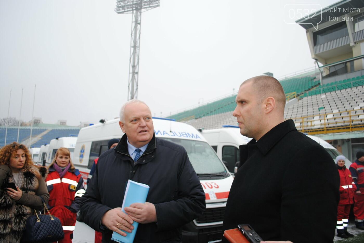 До Полтавського автопарку екстреної медичної допомоги надійшло 103 нових автомобіля, фото-6