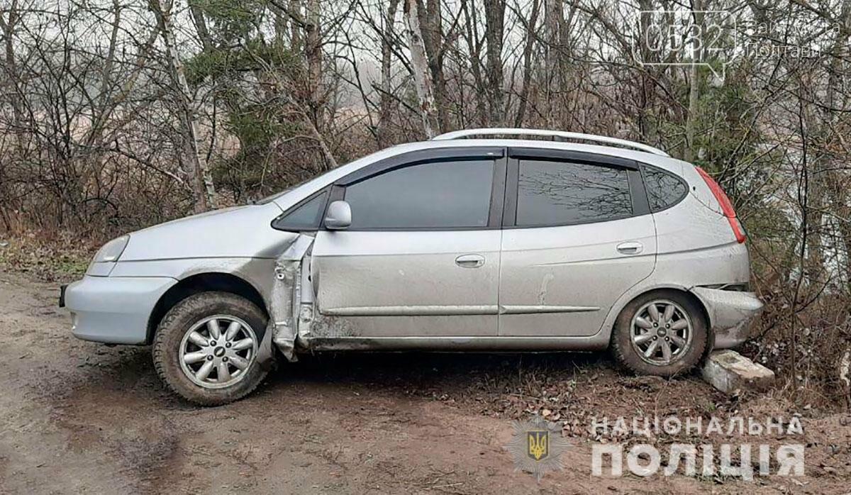 На Полтавщині через ожеледицю кілька автомобілів злетіли із траси у кювет (ФОТО), фото-3