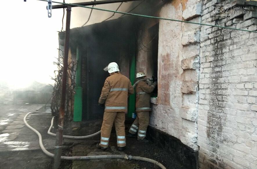 На Полтавщині ліквідували пожежу в житловому будинку, фото-1