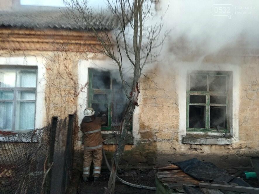 На Полтавщині ліквідували пожежу в житловому будинку, фото-2