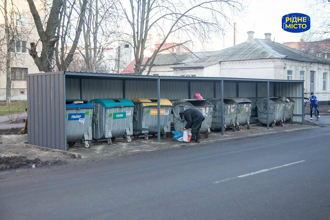 У Полтаві оновлюють майданчики для сміттєвих контейнерів, фото-1