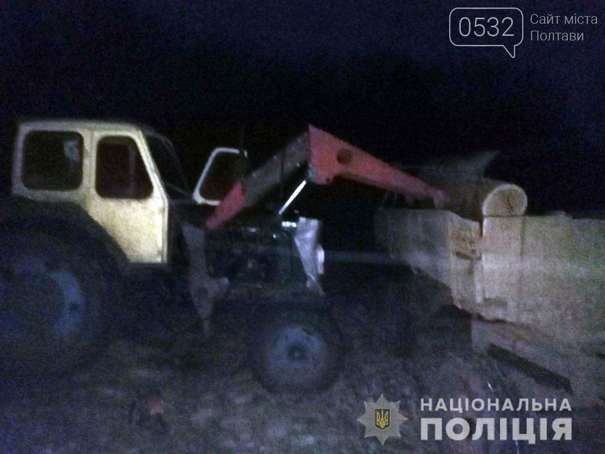 На Полтавщині поліція викрила чоловіка у незаконній порубці дерев дубу, фото-1