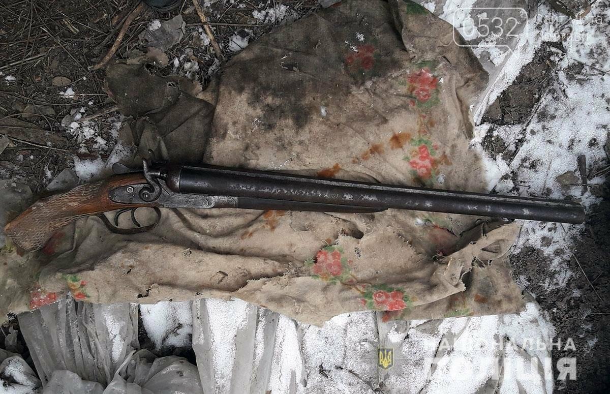На Полтавщині у пенсіонера знайшли зброю, набої та вибухівку, фото-1