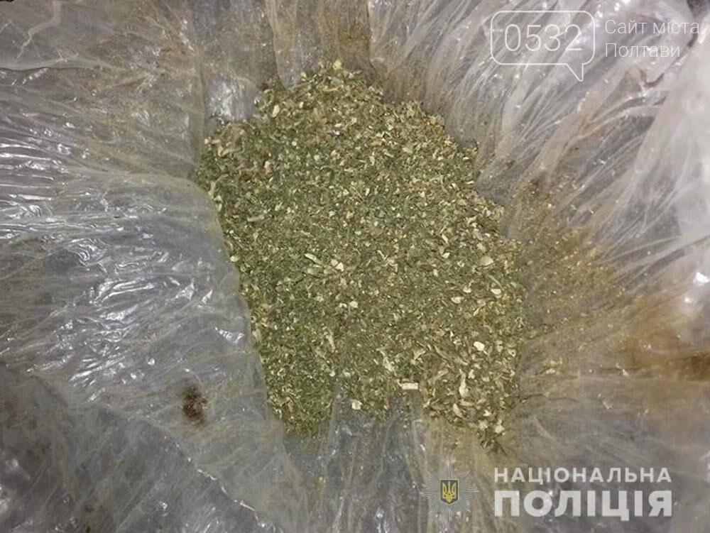 На Полтавщині поліцейські вилучили наркотики - понад 40 грамів канабісу, фото-2