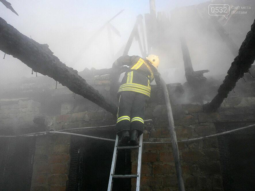 У місті на Полтавщині рятувальники гасили дачу, фото-2