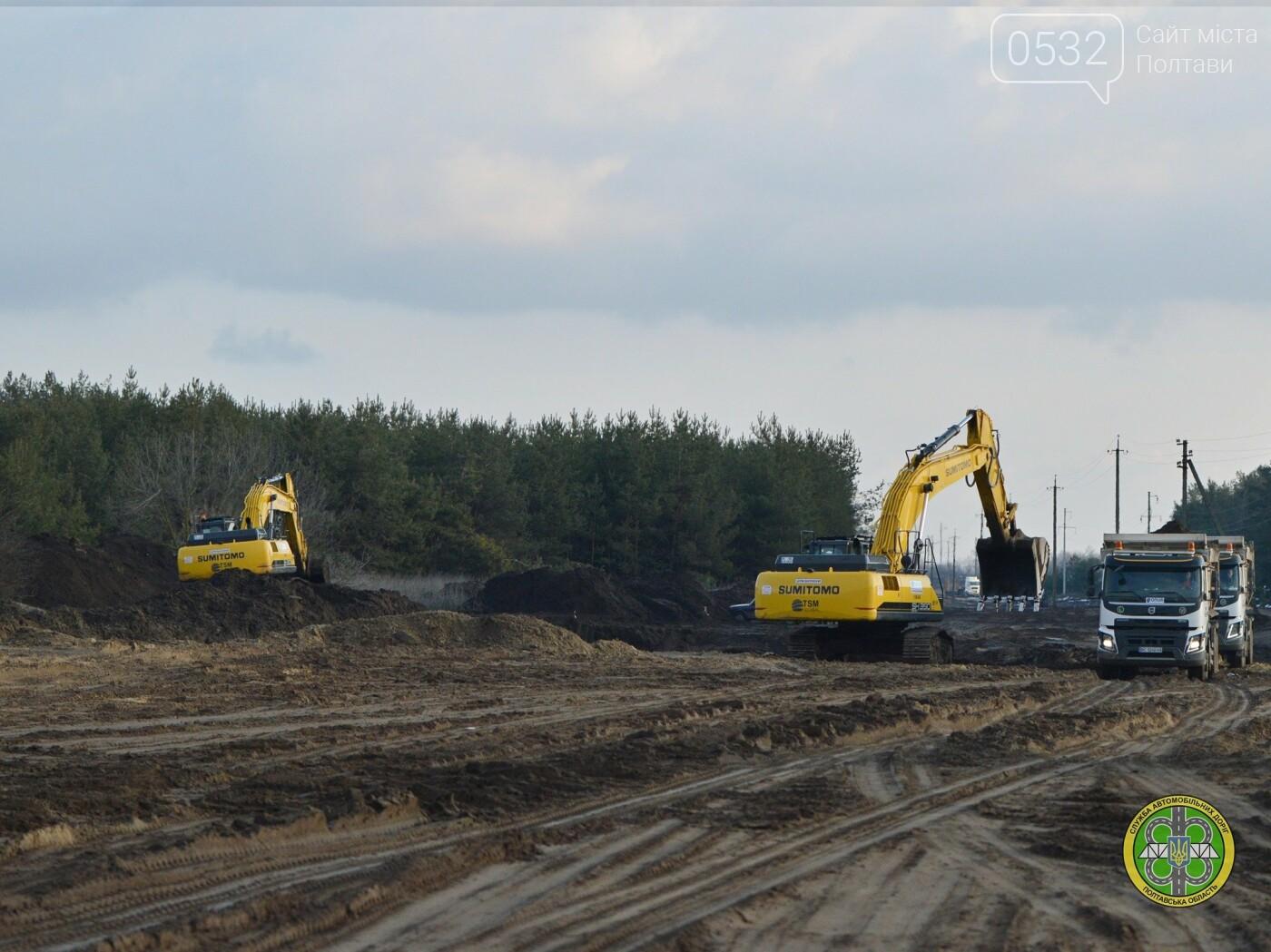 На Полтавщині продовжили реконструкцію автотраси та мосту через Ворсклу, фото-4