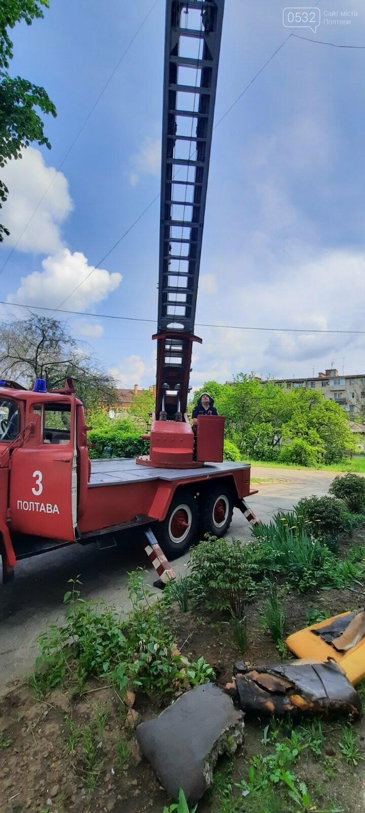 У Полтаві рятувальники загасили пожежу у квартирі з п'ятиповерхівки, фото-1