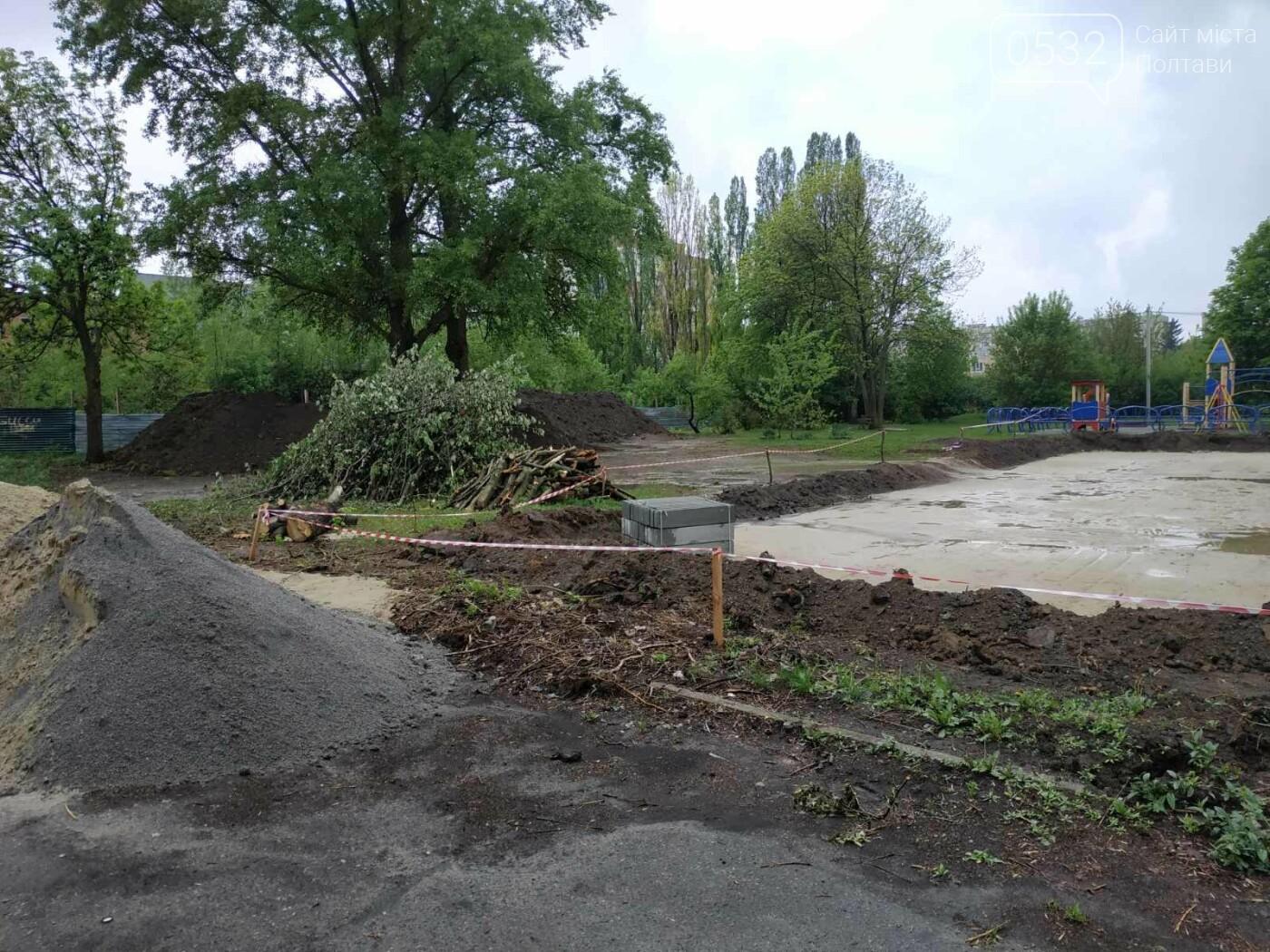 У Полтаві триває будівництво скейт – парку, фото-1