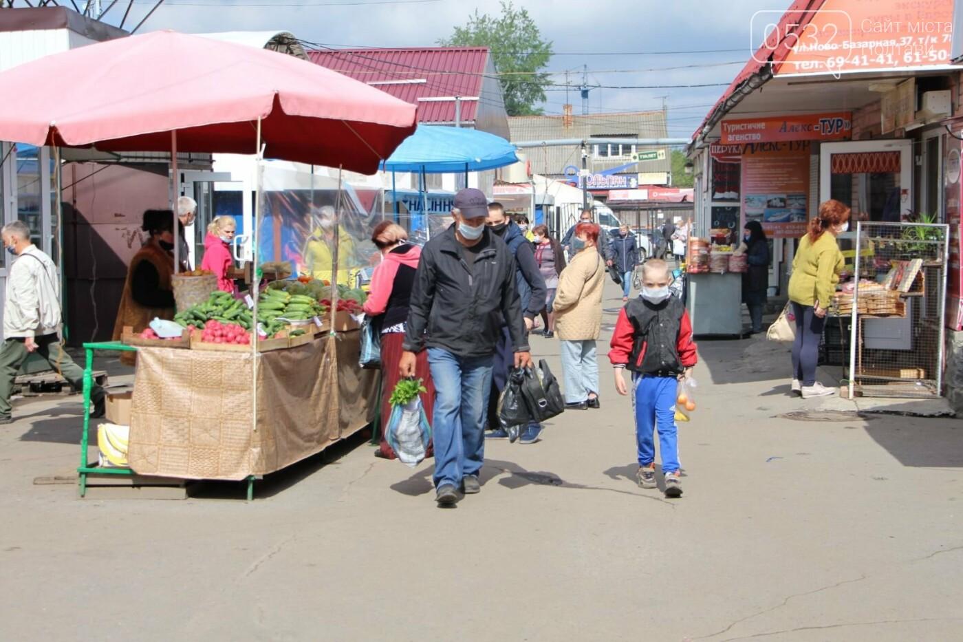 Як сьогодні працюють ринки Полтави? (ФОТО), фото-6