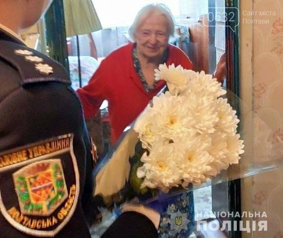 Поліція Полтавщини вшановує ветеранів Другої світової війни, фото-5