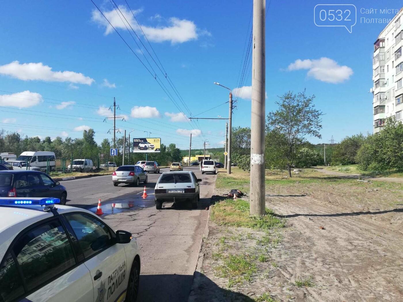 У Полтаві затримали водія-наркомана, який із ножем кидався на патрульних (ФОТО), фото-1