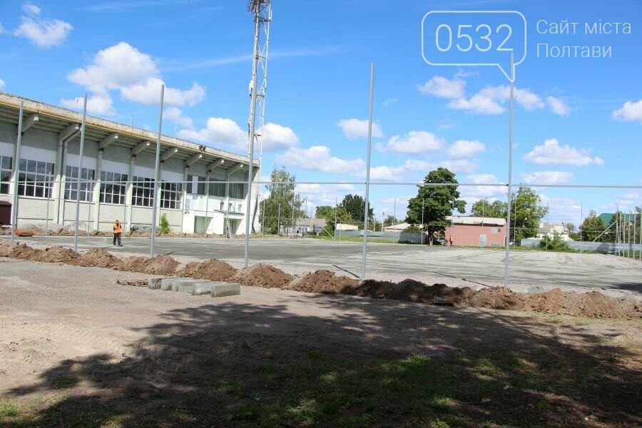 На ігровому майданчику ДЮСШ ім. І.Горпинка покращують благоустрій та змінюють покриття, фото-4