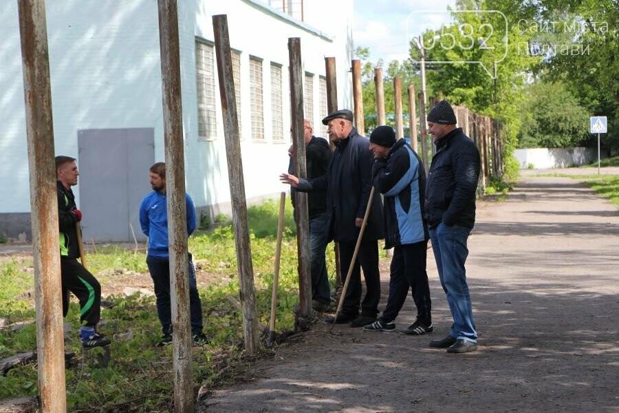 На ігровому майданчику ДЮСШ ім. І.Горпинка покращують благоустрій та змінюють покриття, фото-6